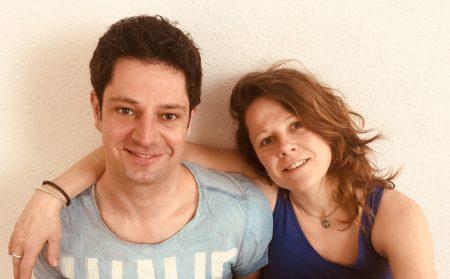 Yogadocenten in Leiden: Yvonne en Lennert