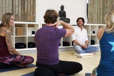 De studio van Liv Yoga voor Mindfulness in Leiden